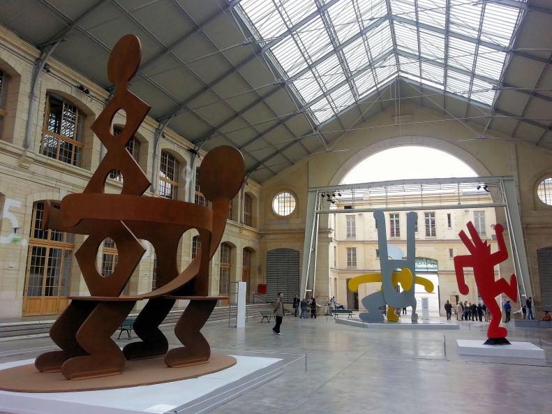 Expo sur Keith Haring au 104